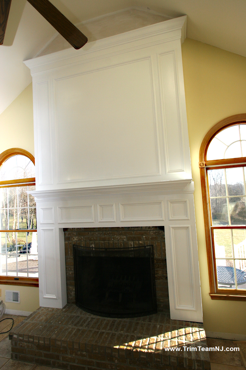 Fireplace Mantels | Trim Team | Woodworking, Molding and ...