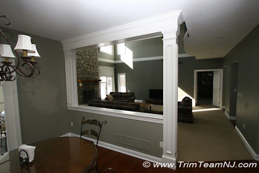 Doorways And Archways Trim Team Nj Woodwork Fireplace