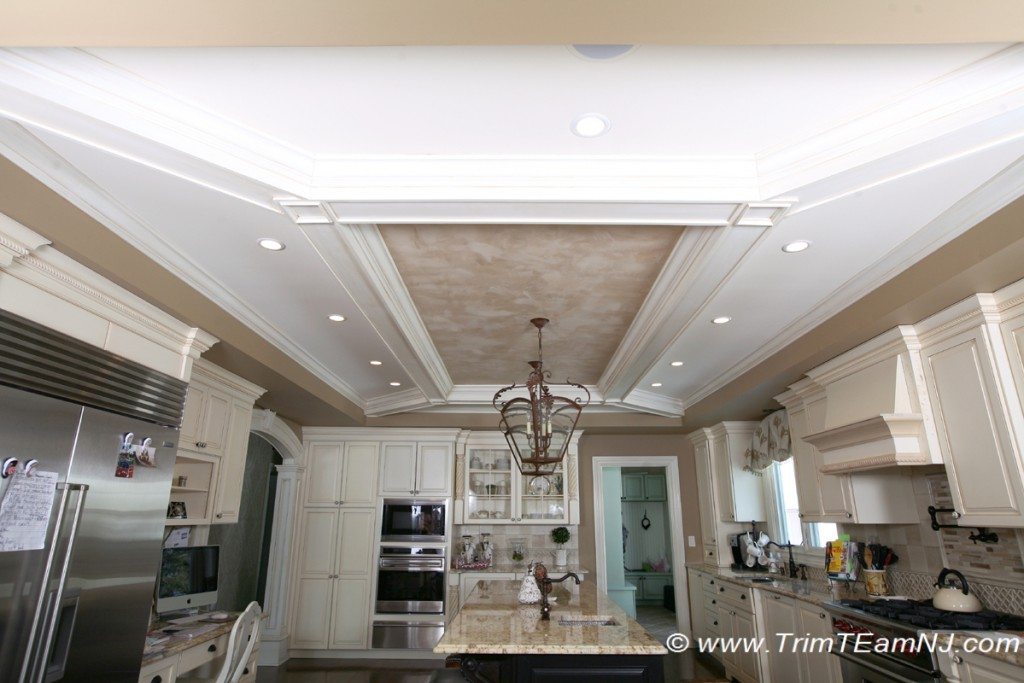 Coffered Ceilings And Beams Trim Team Nj Woodwork