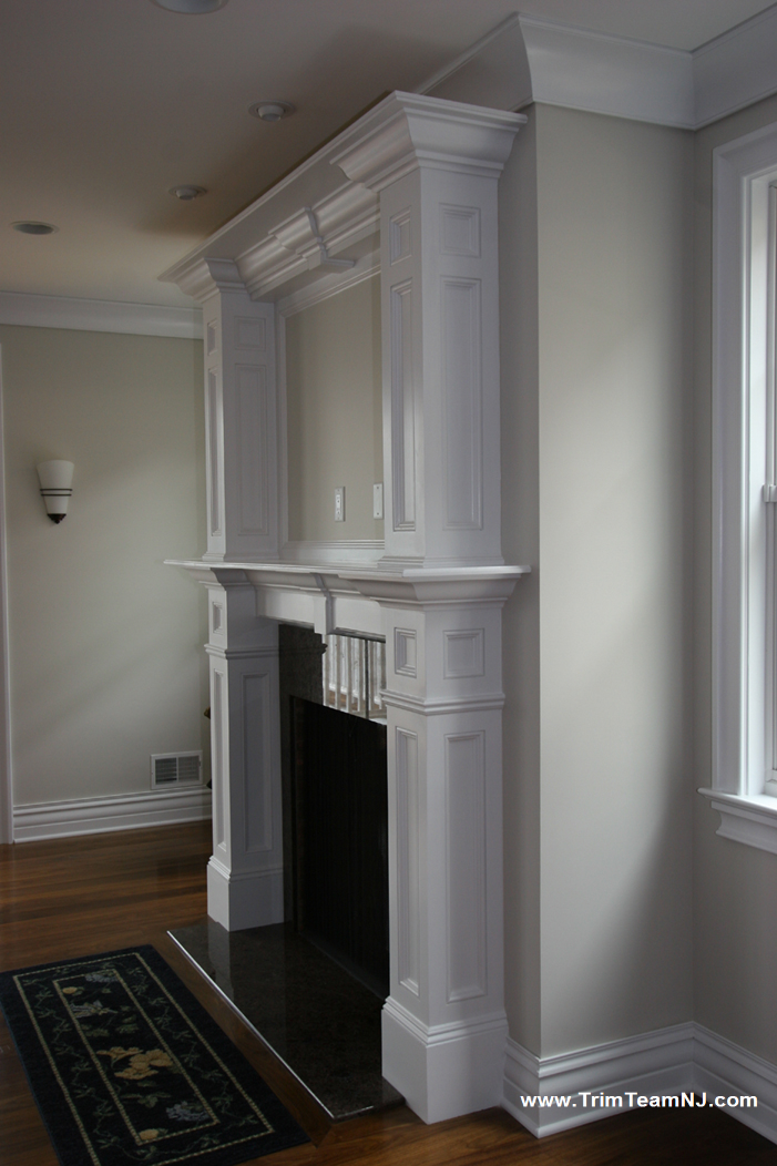 Fireplace Mantels Trim Team Woodworking Molding And