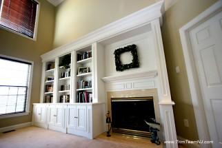 Bookcases Wall Units Built Ins Shelving Bar Trim Team NJ
