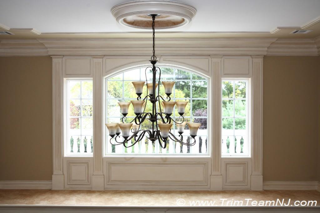 Foyer Window Nj : Doorways and archways trim team nj woodwork fireplace