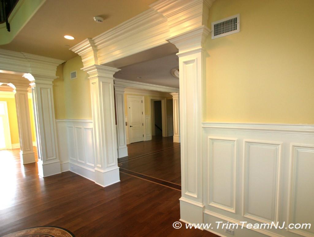 Doorways and archways trim team nj woodwork fireplace for Interior design 07760
