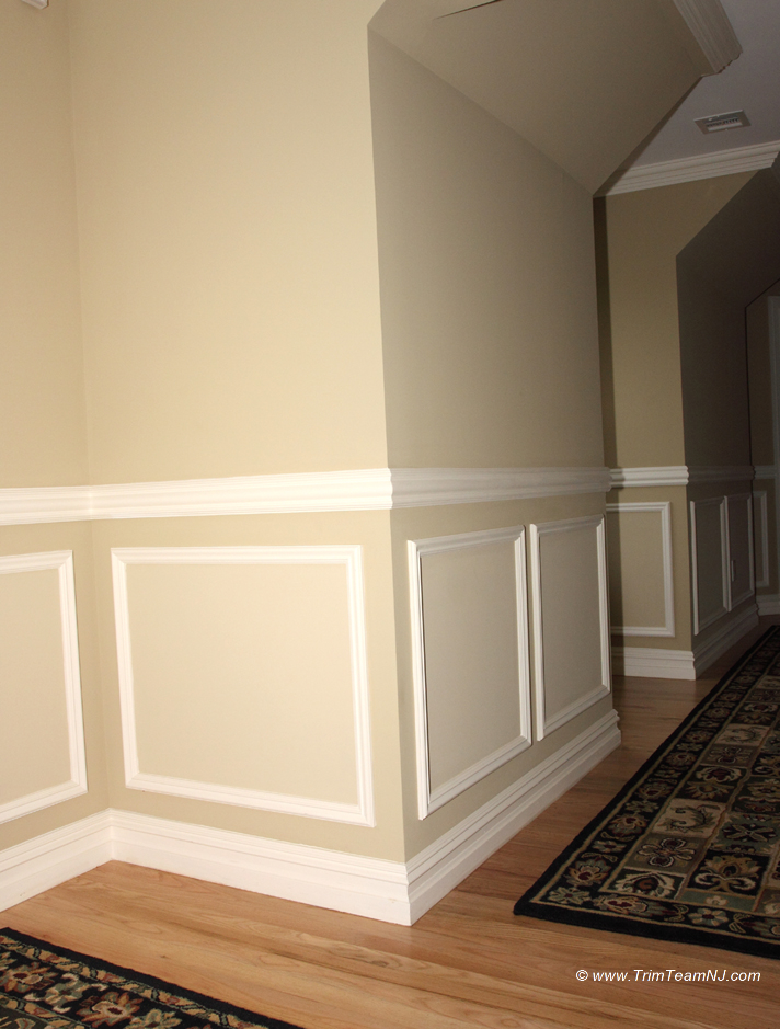 Wainscot And Picture Frames Trim Team Nj Woodwork
