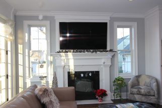 fireplace mentel